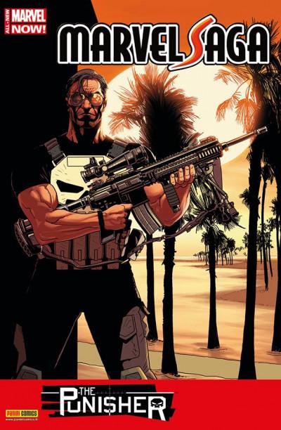 Couverture Marvel Saga V2 tome 4 Punisher 1