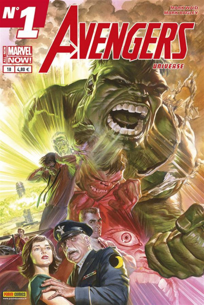 Couverture Avengers Universe tome 18