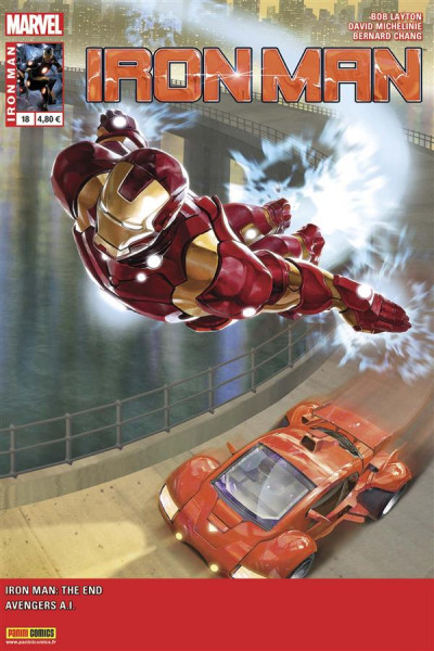 Couverture Iron Man 2013 tome 18