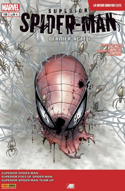 Couverture Spider-Man 2013 tome 18 - La Nation Bouffon 3/3 - Cover  Librairie