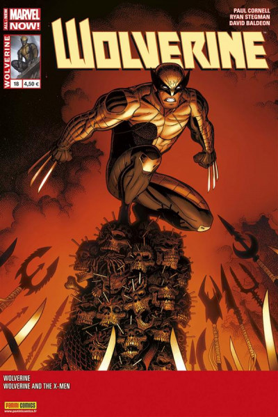Couverture Wolverine 2013 tome 18