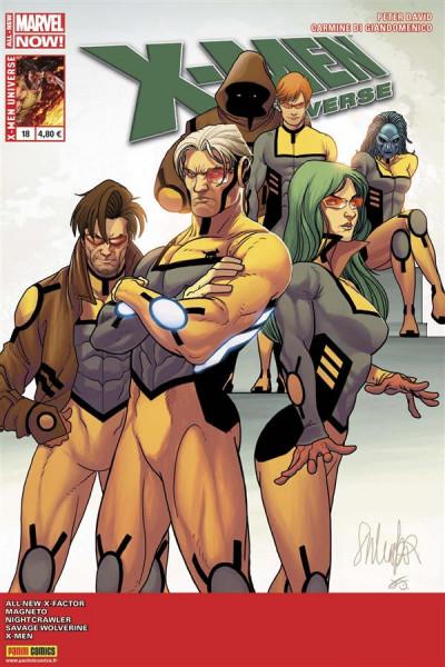 Couverture X-Men Universe 2013 tome 18