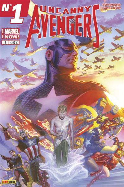 Couverture Uncanny Avengers V2 tome 5