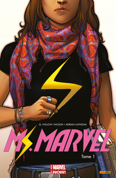 Couverture Ms. Marvel tome 1