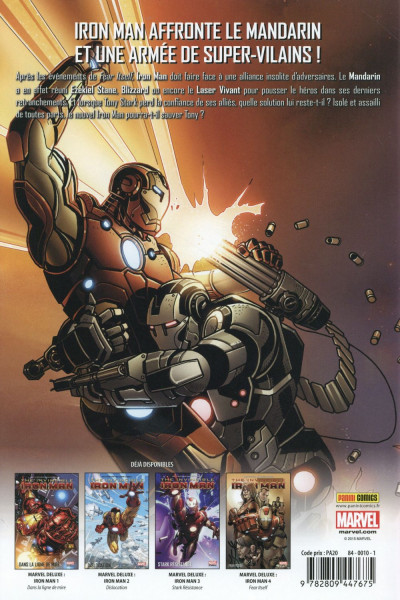 Dos Invincible Iron-Man tome 5