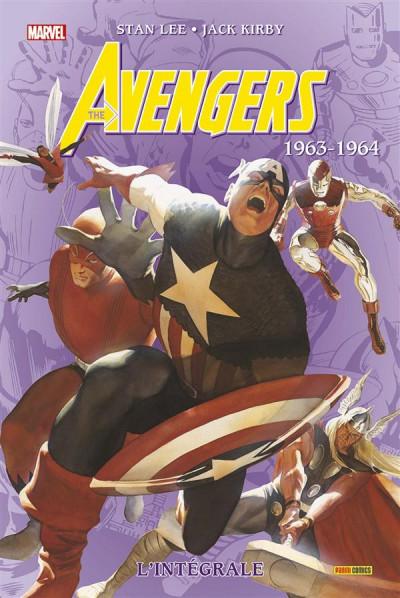 Couverture Avengers - Intégrale 1963-1964 (édition 2015)