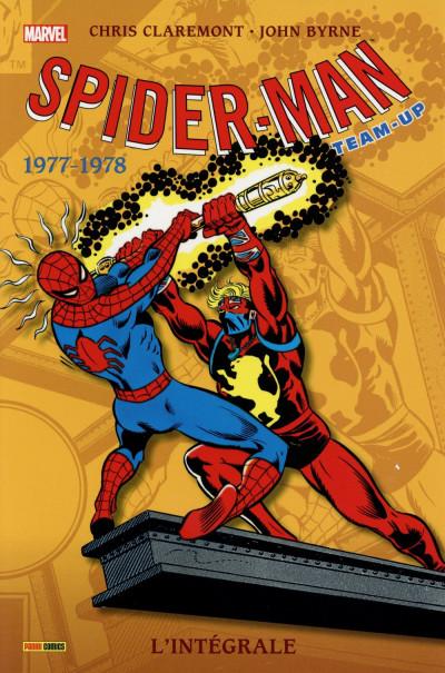 Couverture Spider-Man - Team-Up - Intégrale 1977-1978