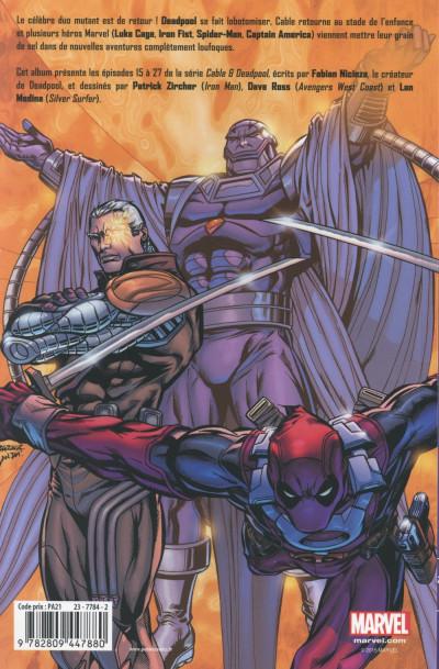 Dos Cable & Deadpool tome 2 - Légendes vivantes