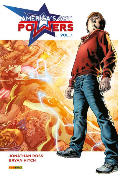 Couverture America's Got Powers tome 1
