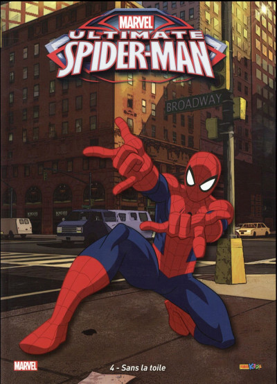Couverture Ultimate Spider-Man tome 4
