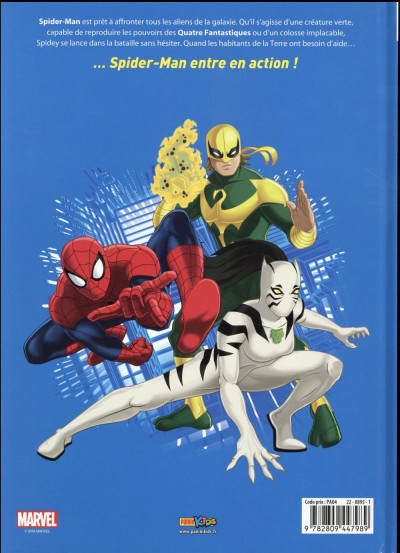 Dos Ultimate Spider-Man tome 4