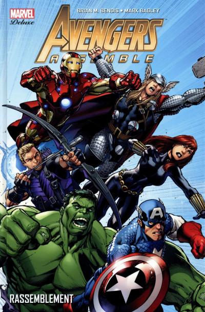 Couverture Avengers Assemble tome 1
