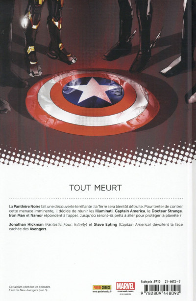 Dos New Avengers tome 1