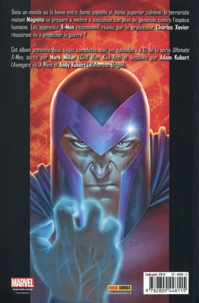 Dos Ultimate X-Men tome 1