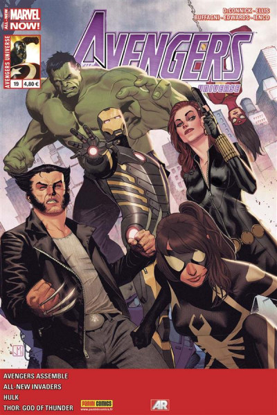 Couverture Avengers Universe tome 19