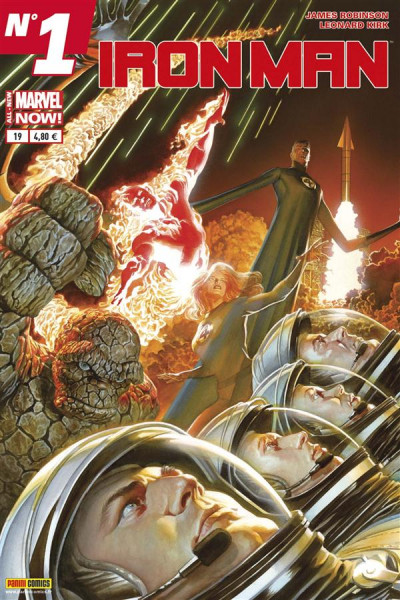 Couverture Iron Man 2013 tome 19 - All-New Marvel Now !
