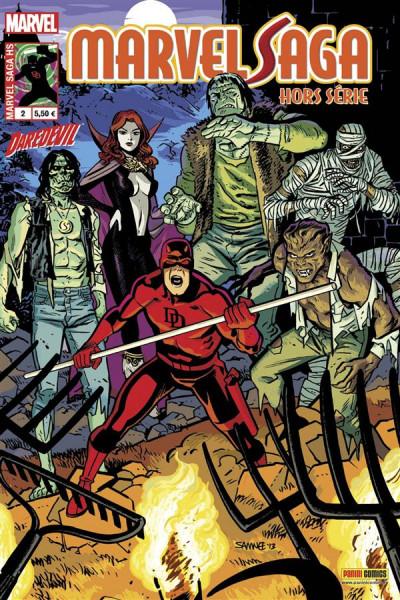 Couverture Marvel Saga HS tome 2 - Daredevil 2/2