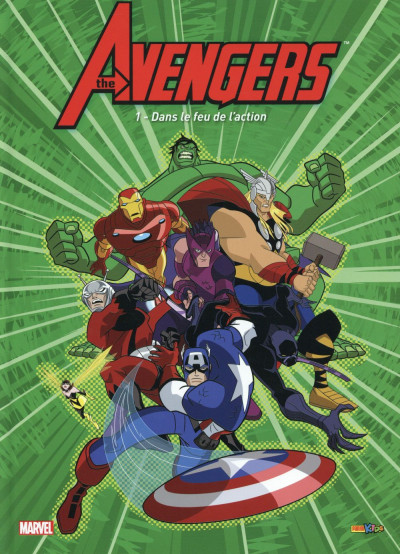 Couverture Avengers tome 1