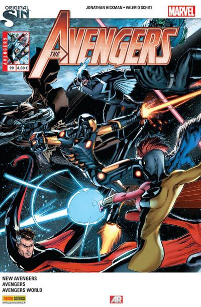 Couverture Avengers 2013 tome 20 - original sin