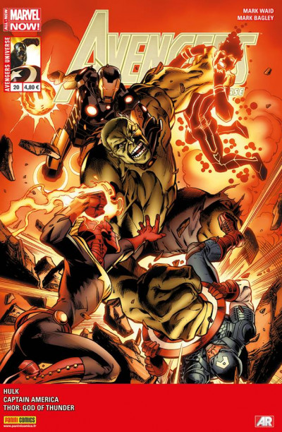 Couverture Avengers Universe tome 20