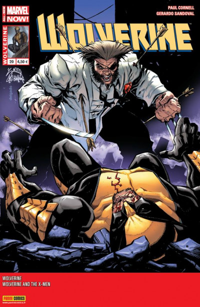 Couverture Wolverine 2013 tome 20