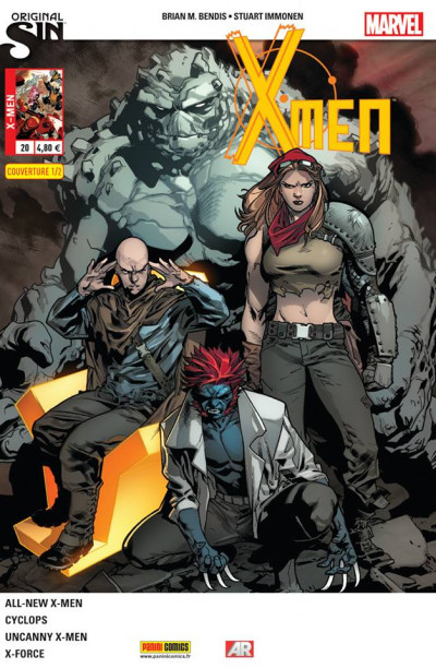 Couverture X-men 2013 tome 20 - Original Sin 1/2