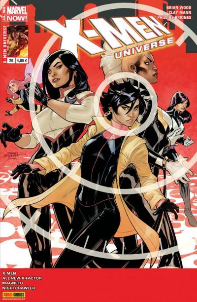 Couverture X-Men Universe 2013 tome 20