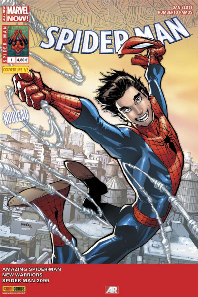 Couverture Spider-Man 2014 tome 1 - Cover 2/2