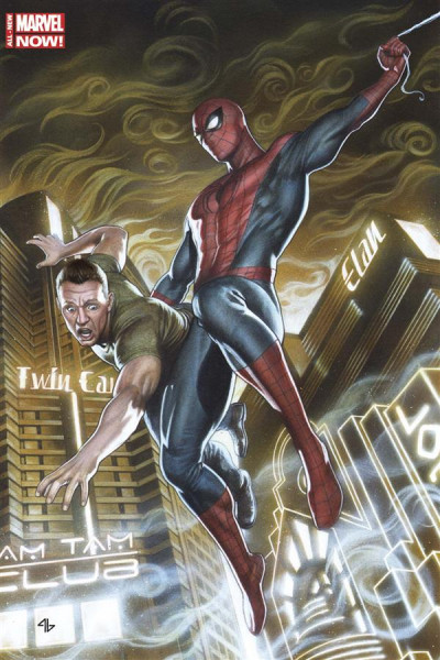 Couverture Spider-Man 2014 tome 1 - Variant Cover + T-Shirt M