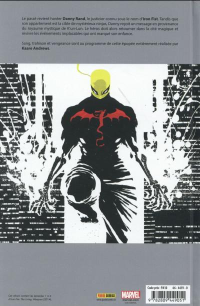 Dos Iron Fist tome 1