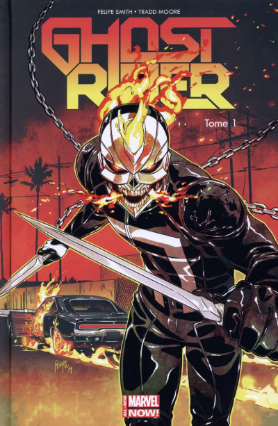 Couverture Ghost Rider - All-New Marvel Now ! tome 1