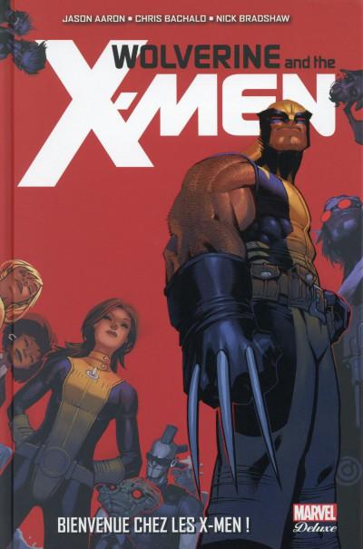 Couverture Wolverine et les X-Men tome 1