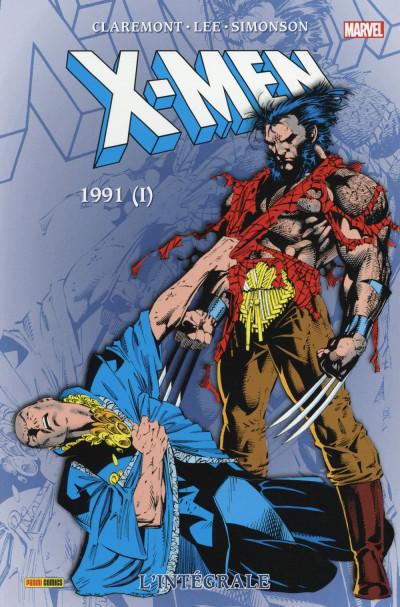 Couverture X-Men - Intégrale 1991 (I)