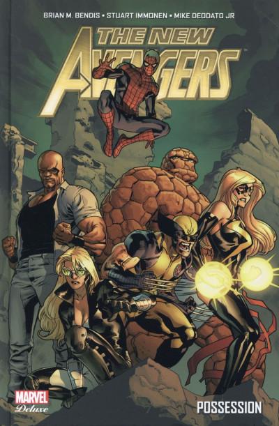 Couverture New Avengers - L'âge des héros tome 1