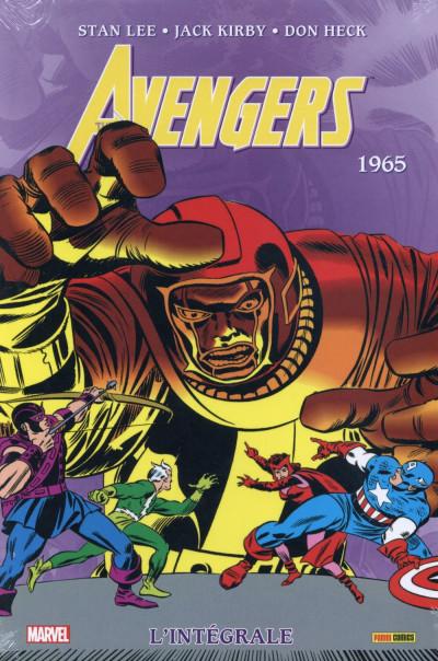 Couverture Avengers - Intégrale 1965 (nouvelle édition 2015)
