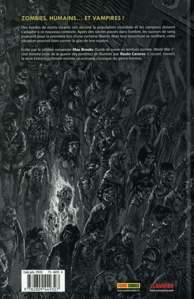 Dos The Extinction Parade tome 1