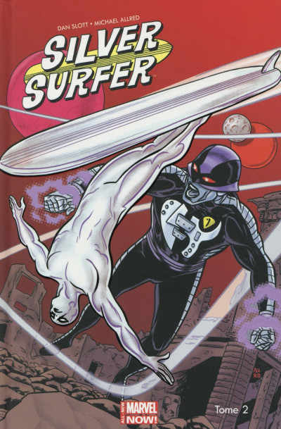 Couverture Silver Surfer - All-New Marvel Now ! tome 2