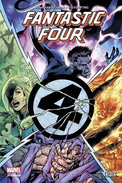 Couverture Fantastic Four par Jonathan Hickman tome 2