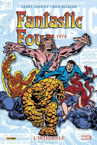 Couverture Fantastic Four - Intégrale 1974