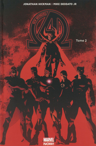 Couverture New Avengers tome 2