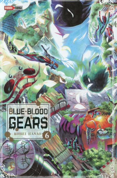 Couverture Blue-Blood Gears tome 6