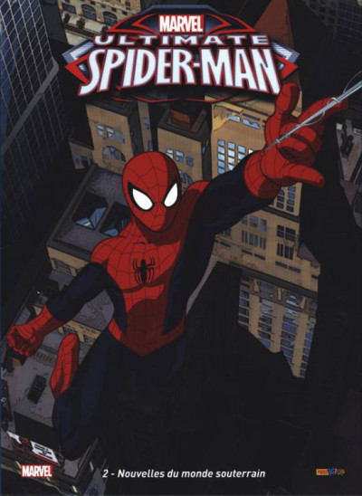 Couverture Ultimate Spider-Man tome 2