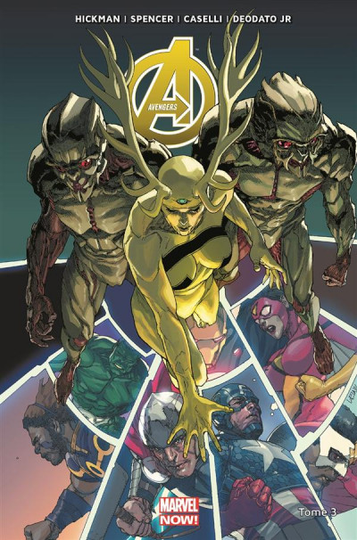 Couverture Avengers tome 3