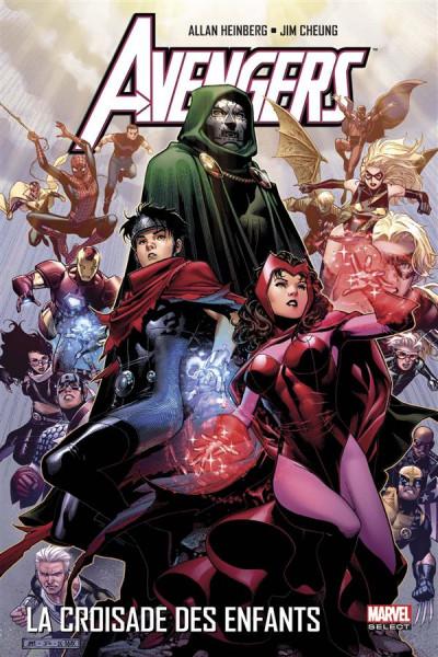 Couverture Avengers - La Croisade des enfants