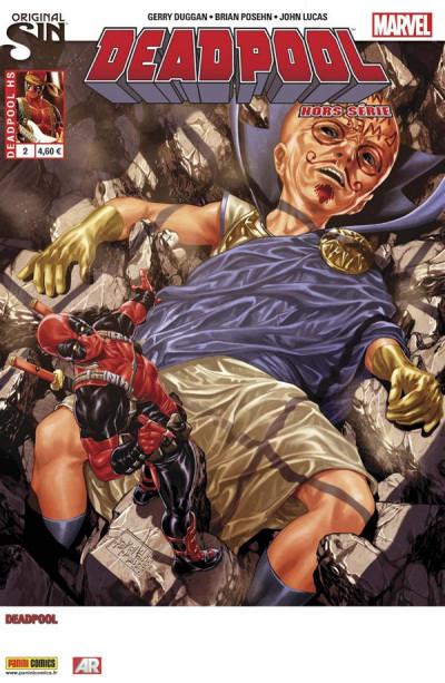 Couverture Deadpool HS tome 2 - Original sin