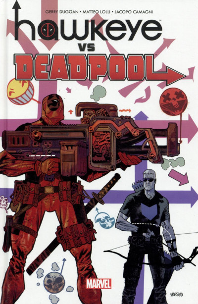Couverture Hawkeye vs Deadpool