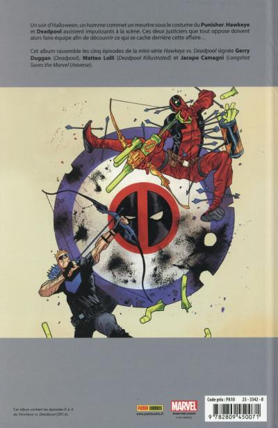 Dos Hawkeye vs Deadpool