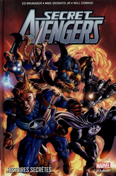 Couverture Secret Avengers tome 1