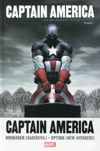 Couverture Captain America par Brubaker et Epting tome 1