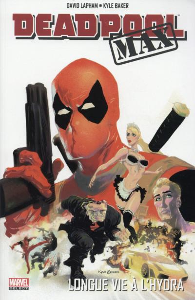 Couverture Deadpool Max